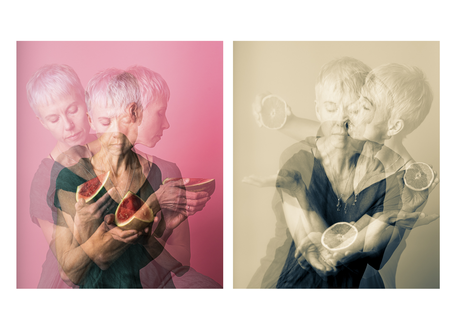 Senses in Animate Project, Diptych