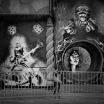 1-Fun House Entrance-2011-44_x54_ Split Toned Gelatin Silver Print