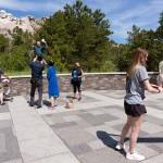 Knedler_Selfies at Mount Rushmore